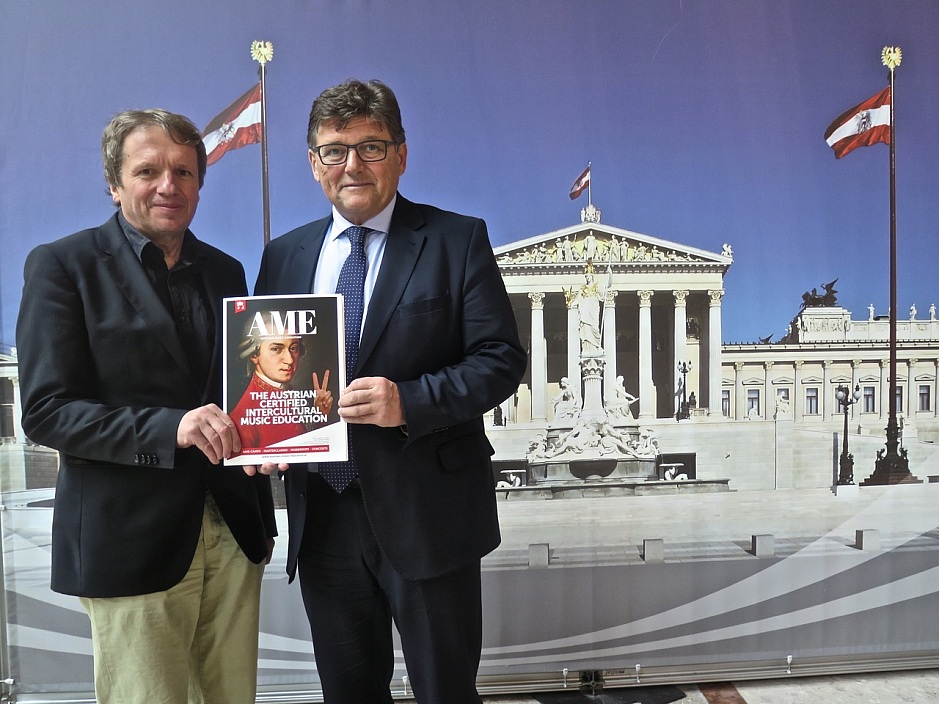 Official reception for AME in the Austrian Parliament